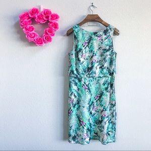 Ann Taylor Watercolor Dress